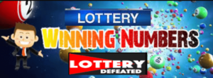 Lottery Defeated Lottery Winning Numbers
